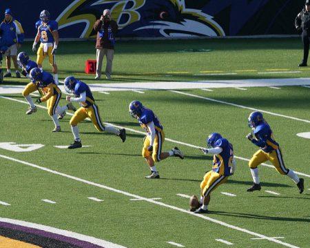 Football Kickoff Team