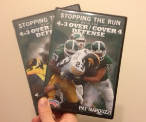 Michigan State 4-3 Defense DVDs