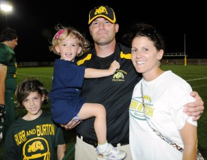 Coach Jason Thomas and Family
