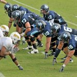 JDFB Quick Clinic #79 – Offensive Line Stance: Which Hand is Down?