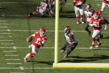 Alex Smith Touchdown