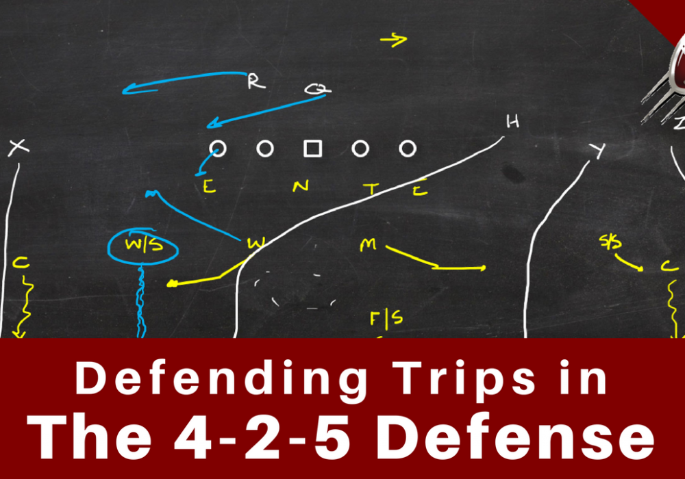 Defending Trips Formations in the 4-2-5 Defense