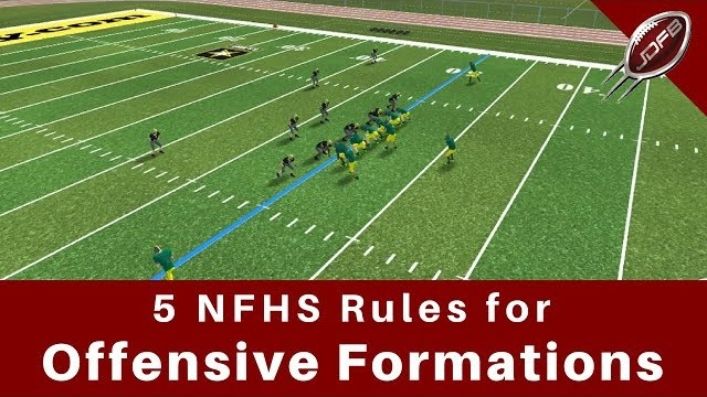 5 Rules for High School Football Formations Every Coach Must Know