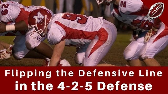 Flip the Defensive Line in the 4-2-5 Defense